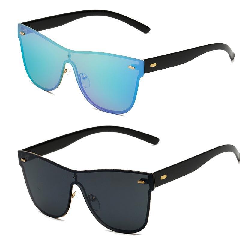 96748e8b1dde6 Fashion Sunglasses 2018 Women Reflective Frameless Luxury New Brand Hvxq1g