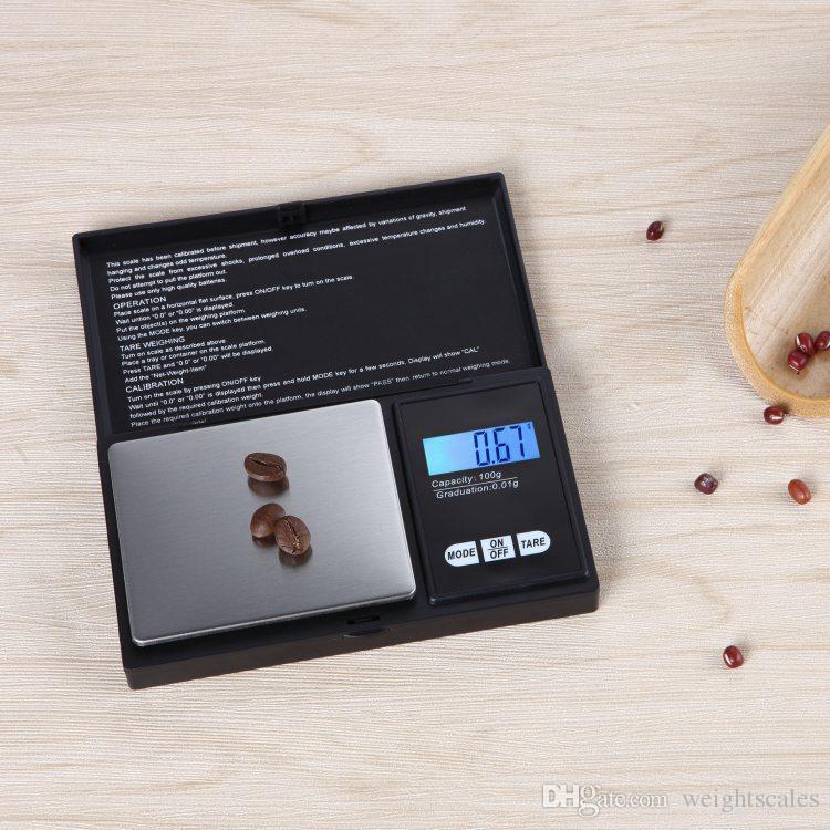 Mini poche numérique balance 0.01 x 200g argent pièce en or bijoux peser balance LCD électronique numérique bijoux balance balance