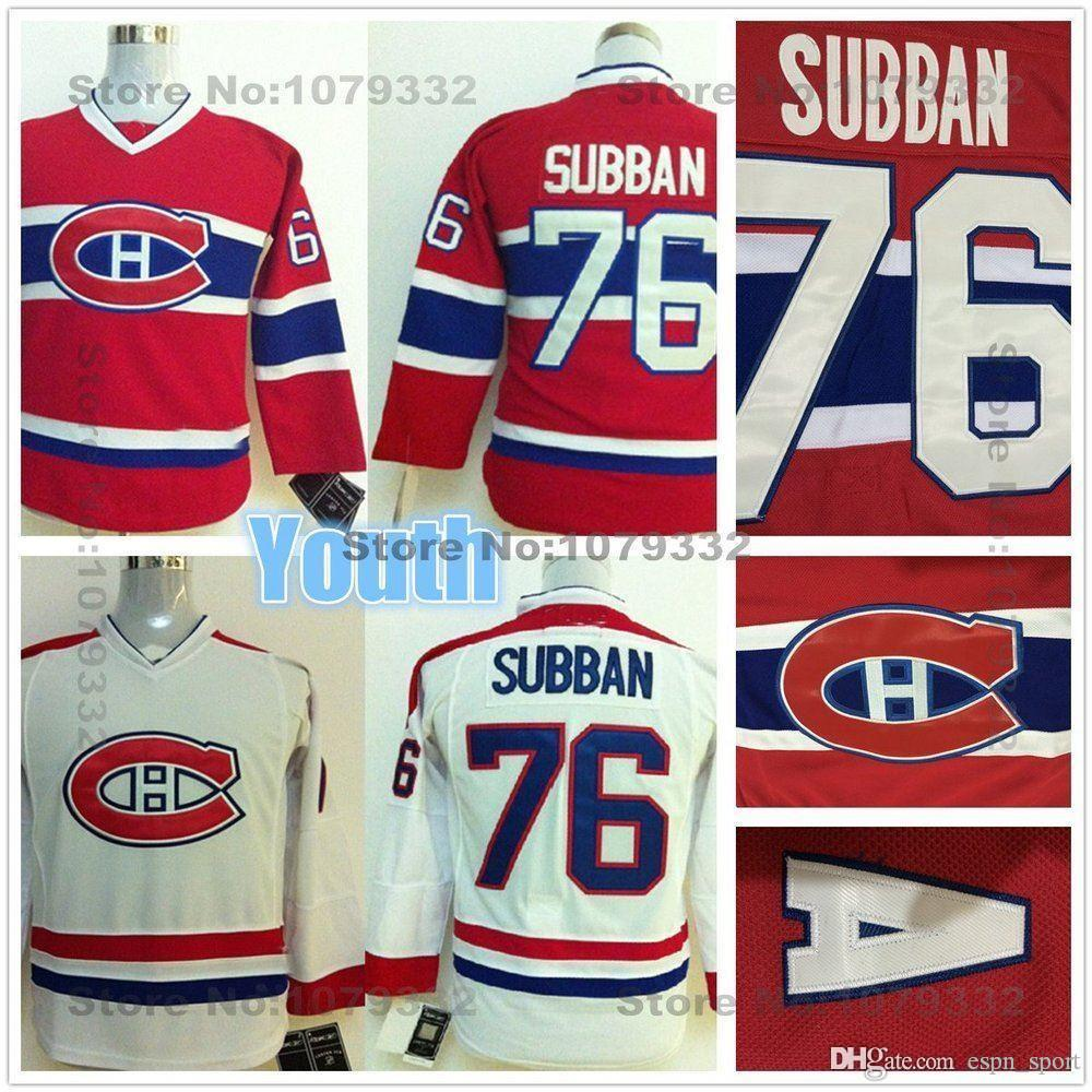 Online Cheap 2015 Youth Montreal Canadiens Hockey Jerseys Kids  76 P.K.  Subban Jersey Youth Home Red Cheap Boys PK Subban Hockey Jersey On Sale By  ... e045ec40e