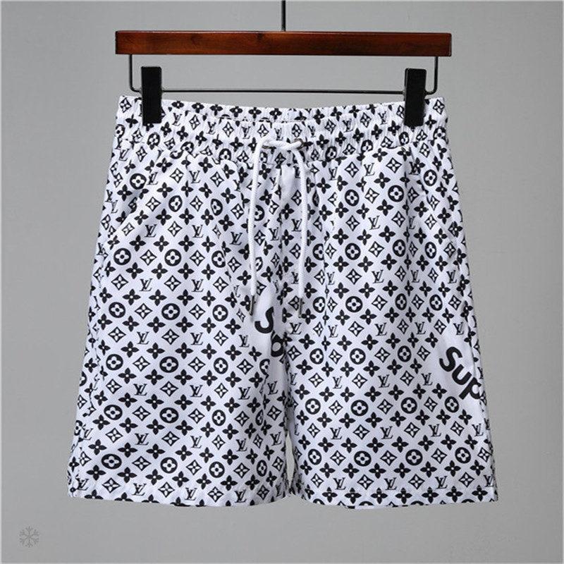 4e49fbbb25bfe Acheter Shorts De Mode Hommes Designer Beach Shorts Marque Pantalons Courts  Sous Vêtements Short De Bain Hommes Vêtements D'été De Luxe De $37.45 Du  Enkk ...
