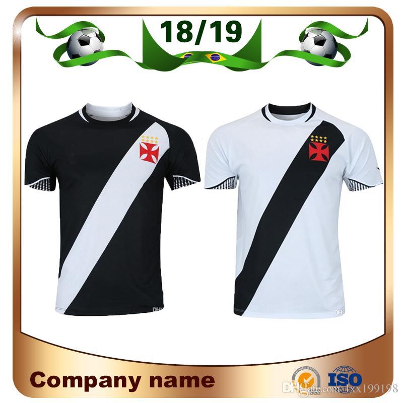 ab64ac9b413b6 Compre 18 19 Camisola De Futebol Vasco Da Gama 2019 Casa Preto 11 Camisa De  Futebol MAXI Fora A. RIOS PAULINHO Vasco Da Gama Uniforme De Futebol ...