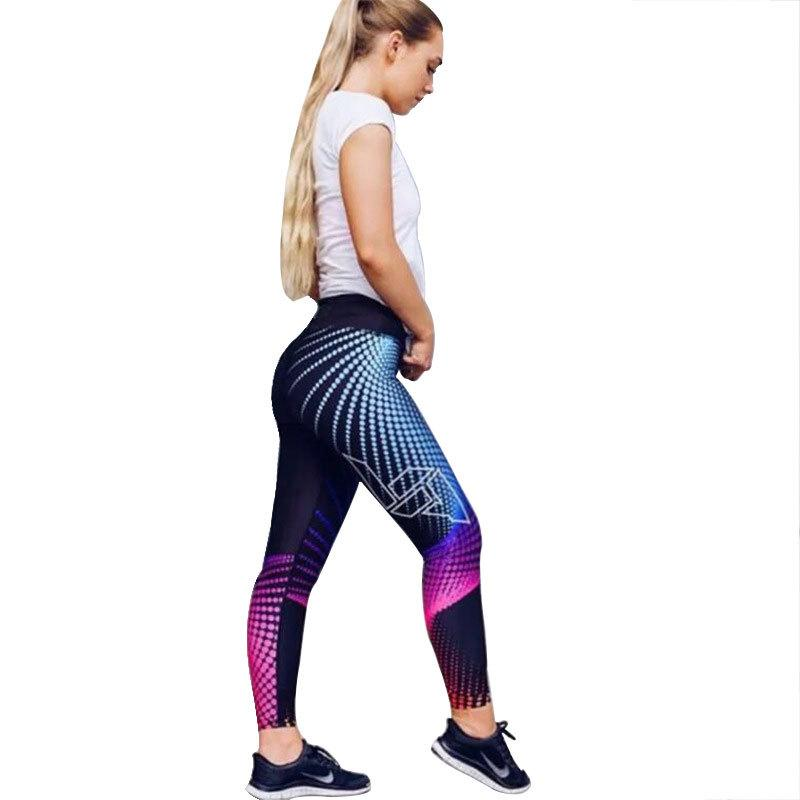 27f95bd249 00 Women's Leggings New Four-pin Six-wire Digital Printing Yoga ...