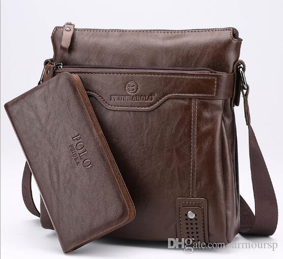 e318a801e895 Famous Brand Leather Men Bag Briefcase Casual Business Leather Mens  Messenger Bag Vintage Men S Crossbody Bag Bolsas Male Messenger Bags For  Women Leather ...