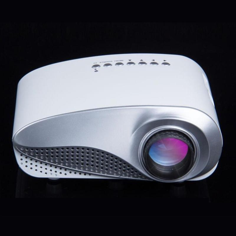 89fe9540074309 50 Lumens Portable Projector LCD LED Mini Projector For Home Theater ...