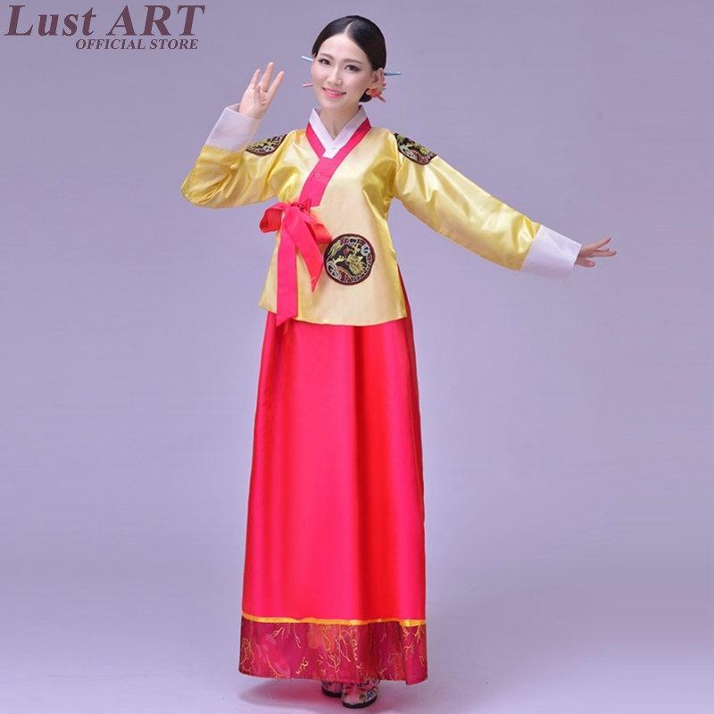 6ee1f727d3 Traditional korean clothing ladies women korean hanbok new design  traditional dress clothing AA210