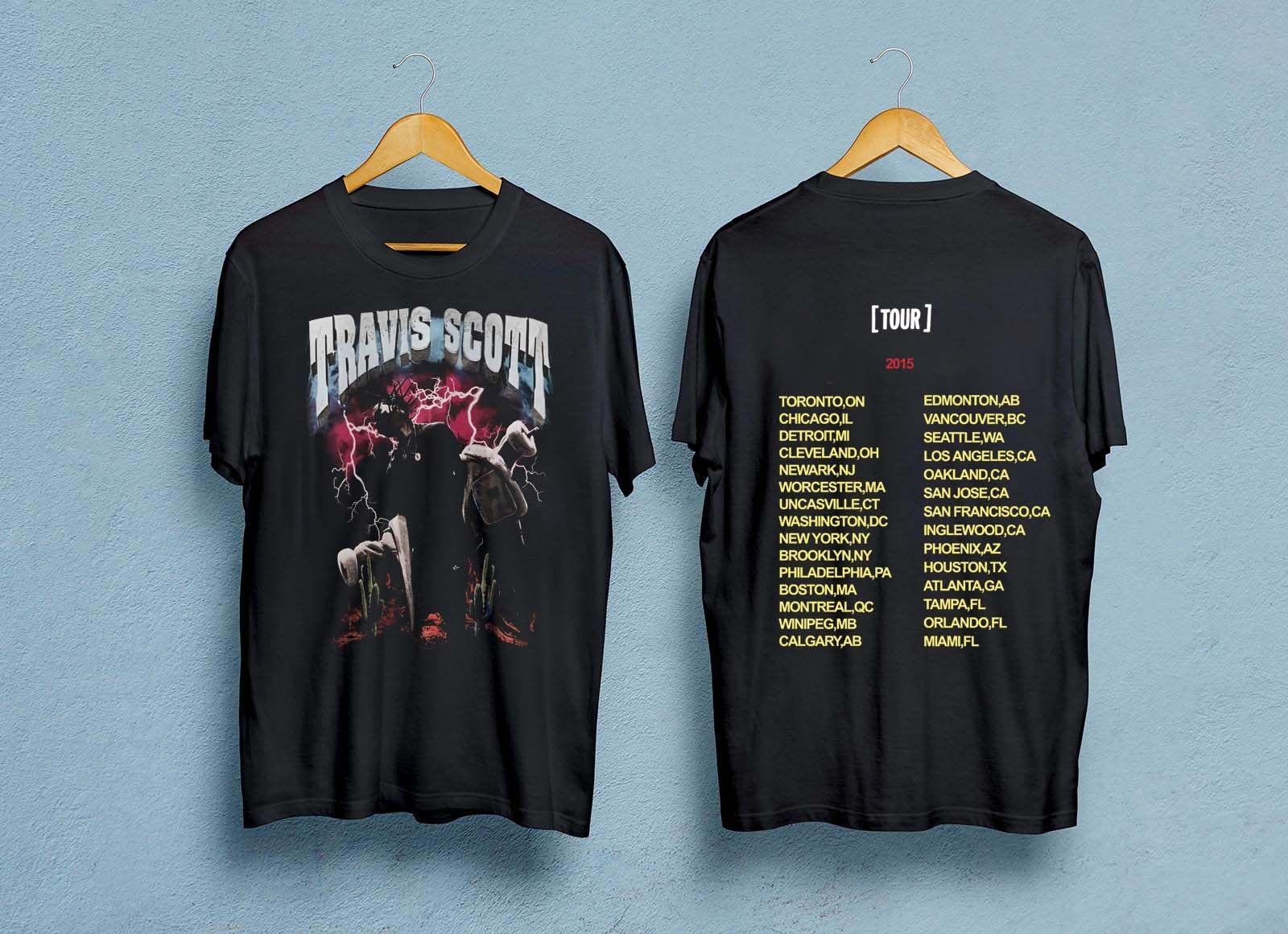 6f74418fc547 Travis Scott Pen & Pixel T-shirt RODEO MADNESS Men's Women's Shirt summer  Hot Sale New Tee Print comfortable fabric