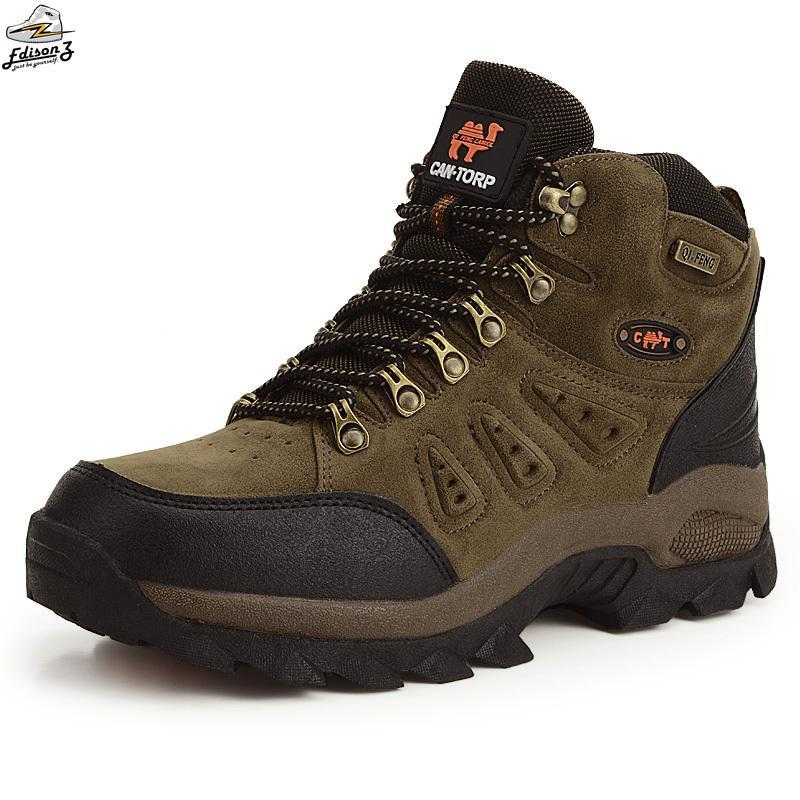 clearance prices outlet boutique shop High Cut Hiking Shoes Wearable Breathable Men's Outdoor Rubber ...