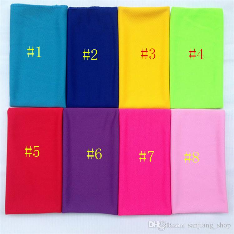 30*70cm Magic Cold Towel Fitness Summer Ice Towel Sports gym ice cool towel Hypothermia Cooling Towels