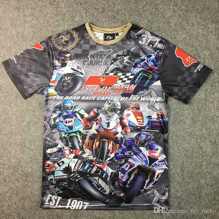 22c18524b 2019 2018 Superbike Isle Of Man TT Racing T Shirts Locomotive Fans Short  Tee Motorcycle Riding Fashion Clothing Moto T Shirt Jersey From Mj moto