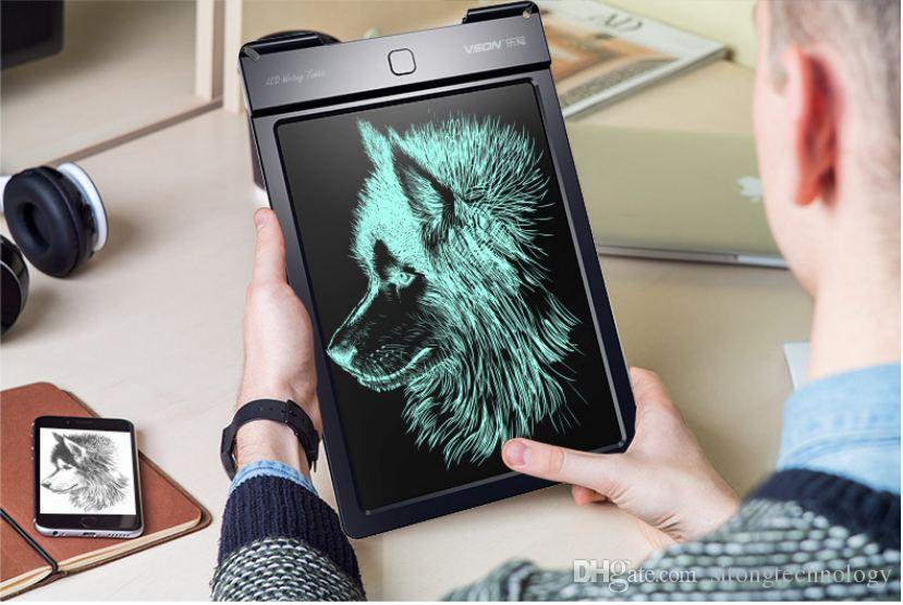 Drawing Board Portable Digital Writing Tablet With LCD Writing Screen + Drawing Pen 9 inch Handwriting Pads Drawing Toy For Kids