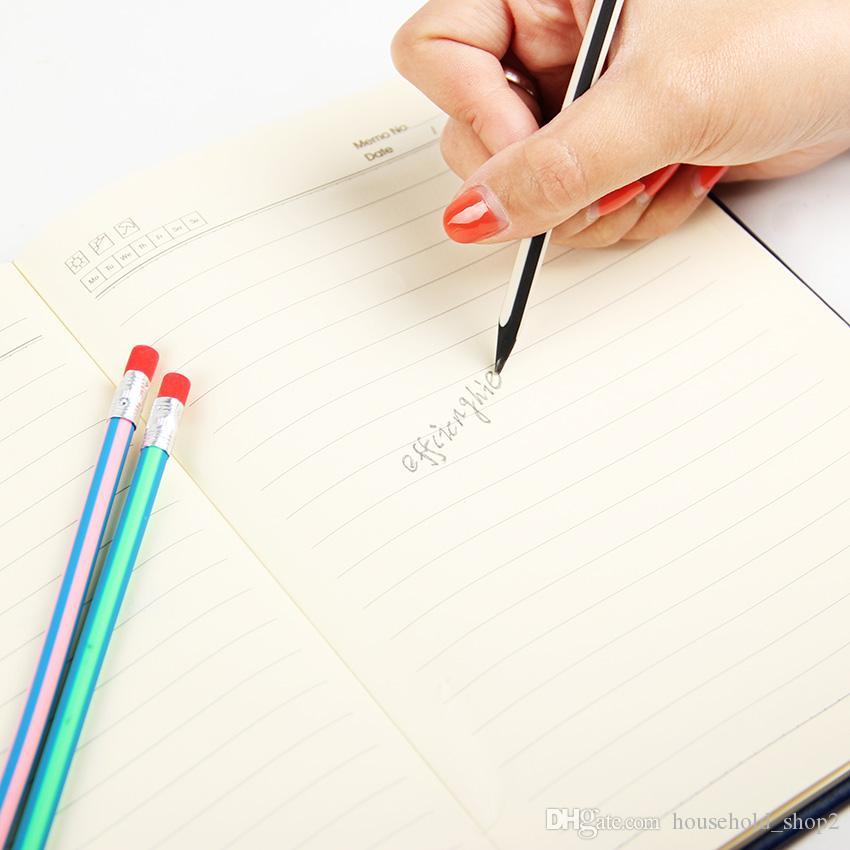 2020 Corea del simpatico molle flessibile matita con la scuola Eraser cancelleria Matite colorate magia Bendy studente forniture Ufficio Scolastico di scrittura