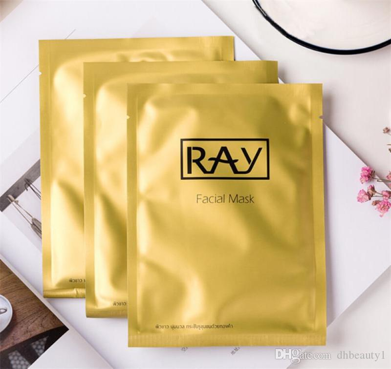 Thailand Ray Fibroin Silk Facial Skin Renewal Anti-Wrinkle Face Mask Triple Mask Biological Mask