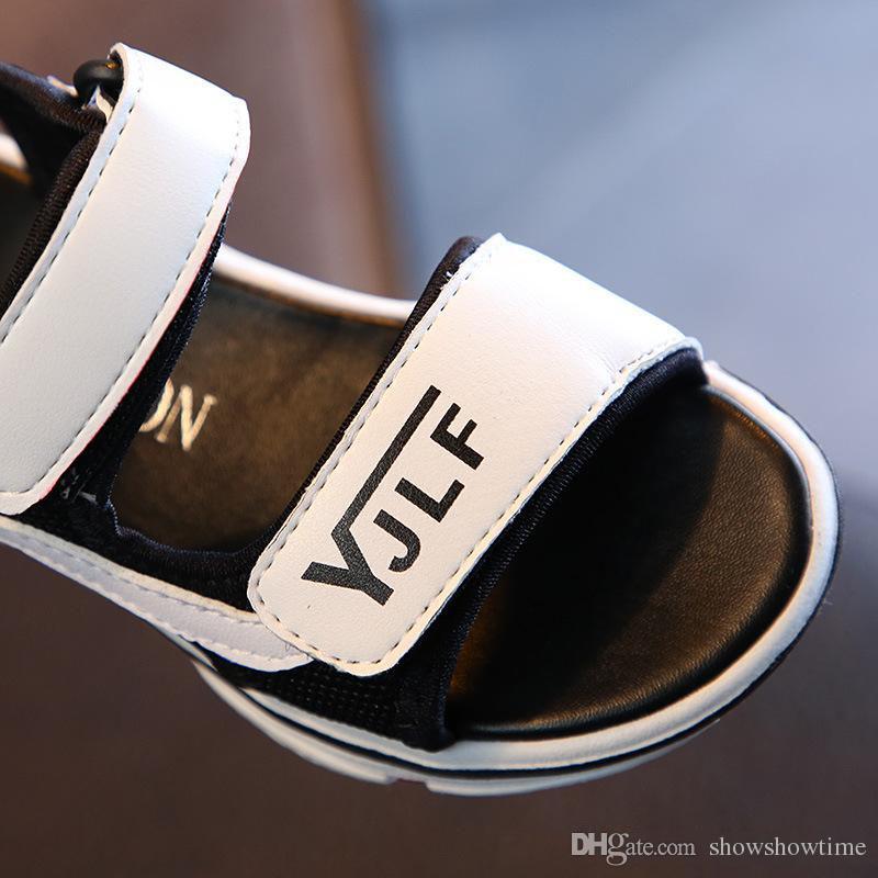 e1a1e09fa ... Niños Sandalias Zapatos Para Niños Pequeños Zapatillas De Deporte De  Verano Para Niños Suave Y Transpirable Cómodo Bebé Niños Niñas Niño Zapato  De Playa ...