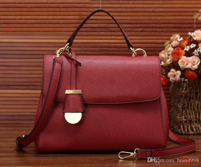 3bf9e57f55 Brand Designer New Fashion Ladies Hand Bag Women S PU Leather Handbag Black  Leather Tote Bag Bolsas Femininas Female Shoulder Bag Mens Shoulder Bags ...