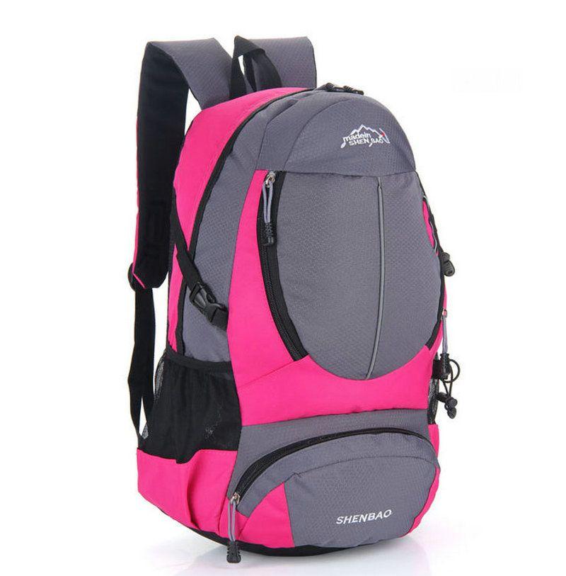 Açık Sırt Çantaları Unisex Seyahat Çok amaçlı Tırmanma sırt çantaları Yürüyüş büyük kapasiteli Sırt Çantaları Kamp Spor Çantaları Multicolors