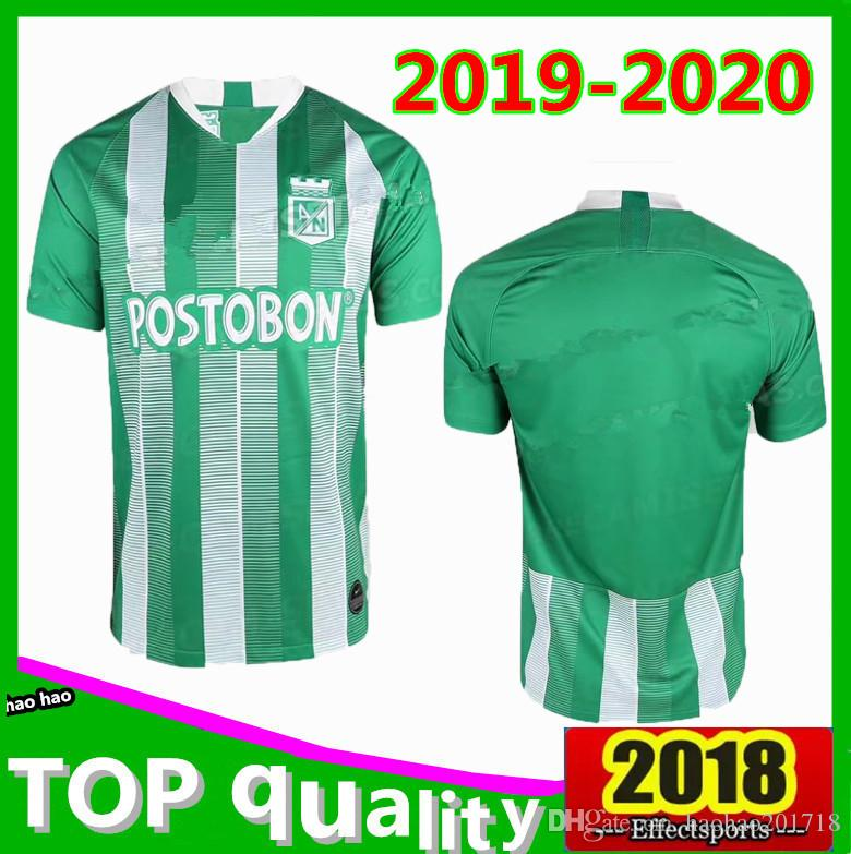 Thai Quality 2019 New Atlético Nacional Soccer Jerseys 19 20 Home Colombian  League Atlético Nacional Men Football Shirt Soccer Jersey Online with ... 3e5828fbc