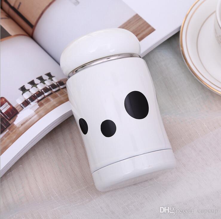 Explosive Modelle Pilz Becher Tasse tragbare Studenten Edelstahl Kinder kreative Mini niedlichen Bauch Tasse Cola-Flasche