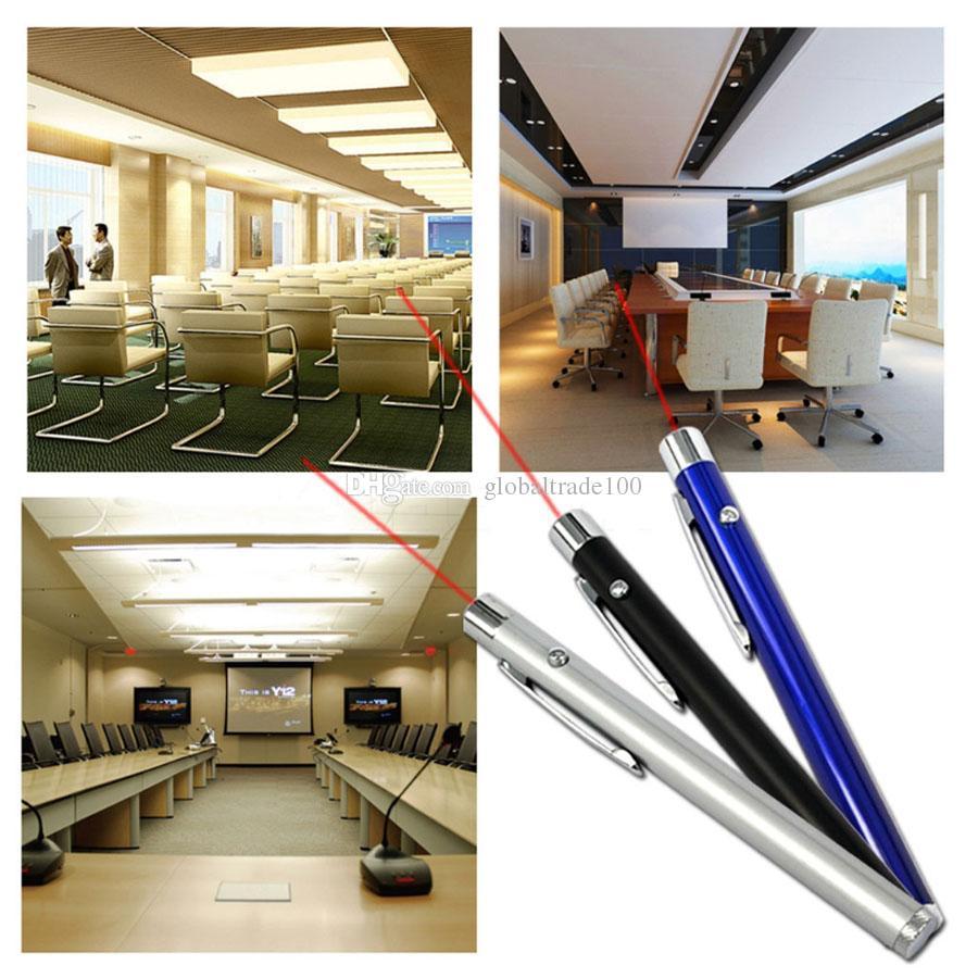 Nova 5mW 650nm Red Light Laser Pointer Pen Linha Contínua Feixe Visível Apresentação Para O Ensino de Professores