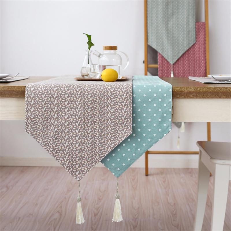 Great Modern Table Runner Printed Floral Linen Cotton Table Runner For Wedding  Party Home Hotel Table Decoration Home Textile Vinyl Table Cloth Vinyl Table  Cloths ...