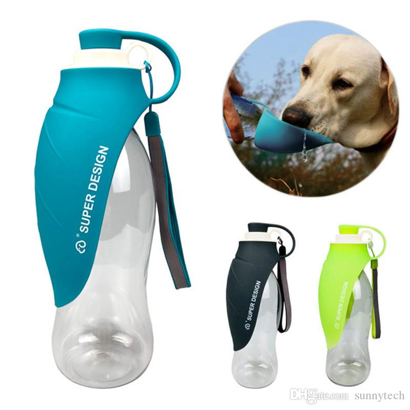 e88a8fc64d 2019 650ml Sport Portable Pet Dog Water Bottle Expandable Silicone Travel Dog  Bowl For Puppy Cat Drinking Outdoor Water Dispenser LZ1922 From Sunnytech,  ...