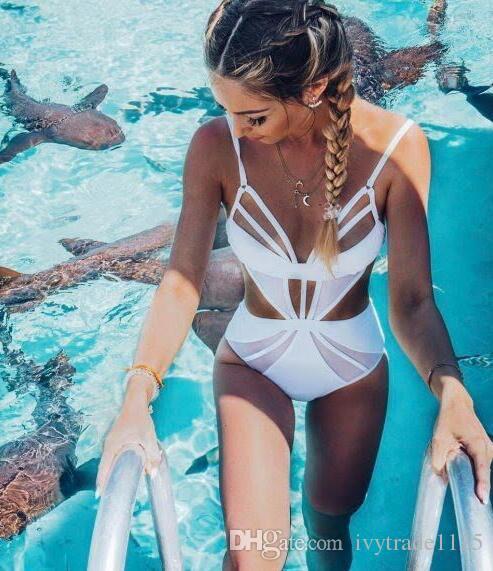 новые цветы прибытия Bkini способа повелительницы Разделили печатание бикини установили сексуальный выдолбленный треугольник Swimsuit одни части бикини установленные S / M / L / XL