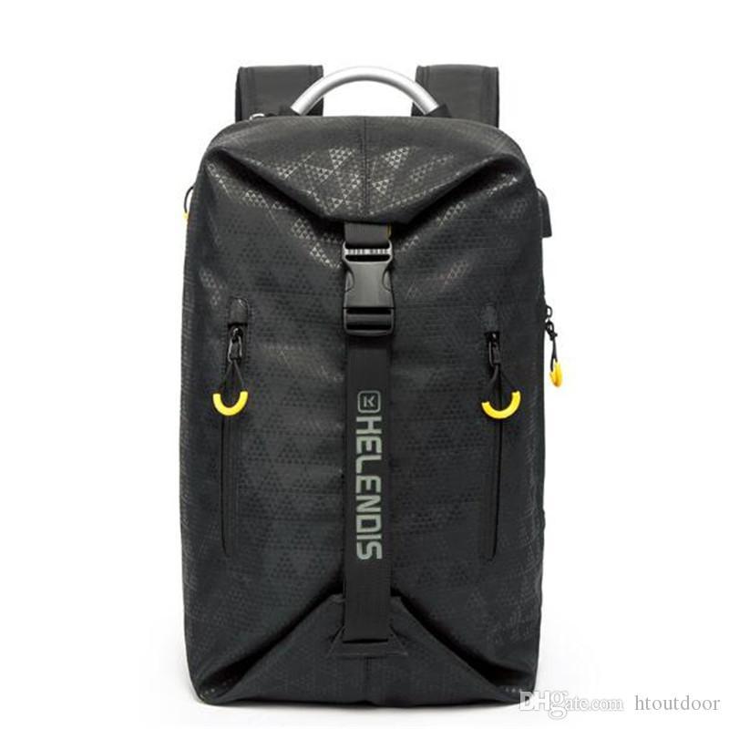 a4721ba895 2019 19 Inch Multi Function Men USB Business Backpack Waterproof Outdoor Rucksack  Laptop Bag Travel Luggage Totes Bag Shoulder School Bag From Htoutdoor