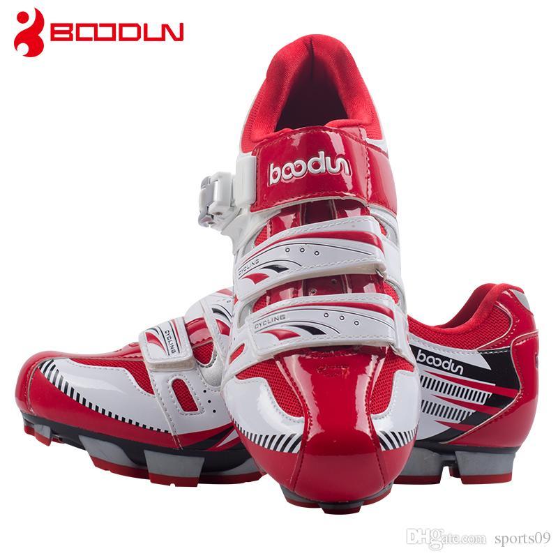 new arrival 4ed35 35a1f Boodun scarpe da ciclismo montagna traspirante estate scarpe per il tempo  libero sport all aria aperta mtb bici da strada bicicletta blocco scarpe da  ...