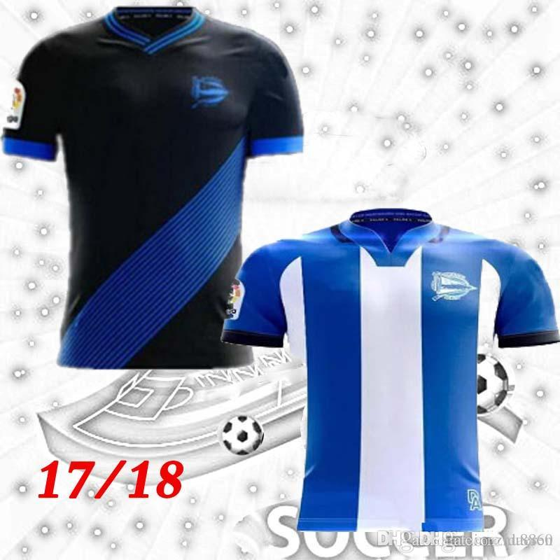 f4799b28e NEW 2017 2018 Adults Alaves Jersey Soccer Shirt 17 18 Deportivo Alaves  Shirt SANTOS VIGARAY ALEXIS Football Shirt 17 18 Online with  19.13 Piece on  Daeren s ...