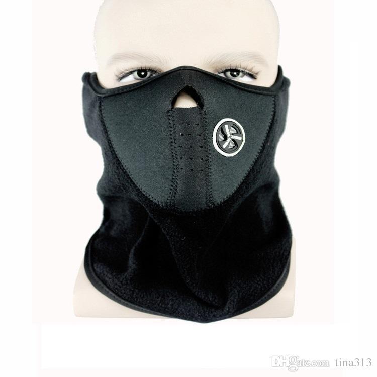 Sport im Freien Motorräder Fahrradzubehör Warme Windschutzscheibe Maske fahren Skimaske Staubdicht Tragekomfort T4H0075