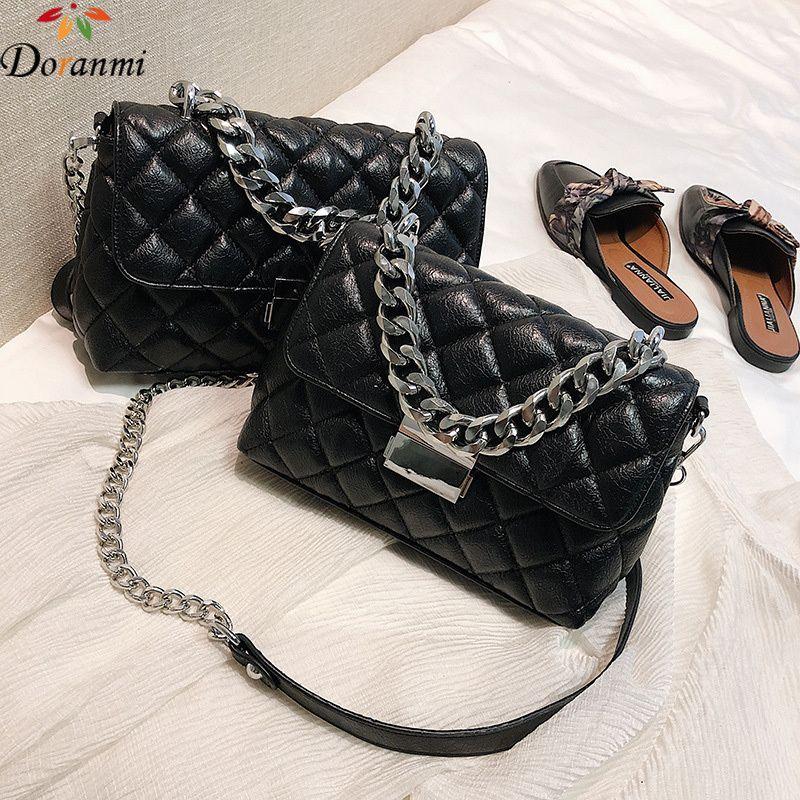 c105b62e0ffd 2019 Fashion DORANMI Classic Diamond Flap Crossbody Bags Women 2018 Luxury Bags  Chain Strap Shoulder Bag Female Square Bolsos Mujer DJB625 Satchel Bags Man  ...