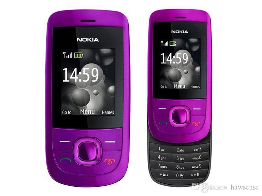 Refurbished Original Nokia 2220S 2220 Slide Unlocked GSM 2G Network Mobile Phone 1.8 inch Screen Mp3 Player Free Post