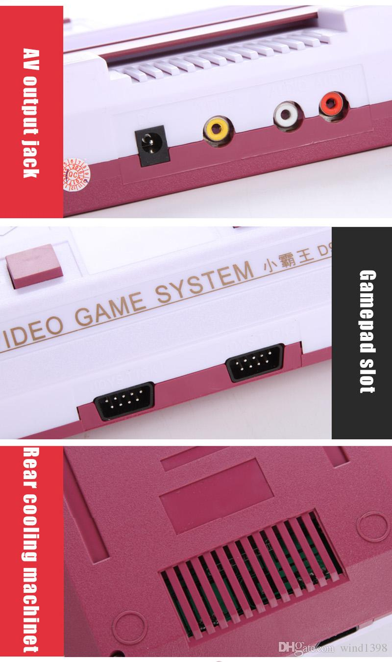 Hot selling Subor bully D99 Video Game Console FC NES Game Machine TV Game Consoles white color
