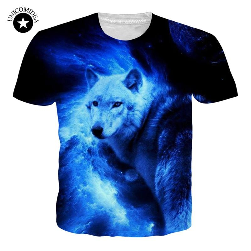 51c8a37cda Wolf Printed T Shirts Men 3d T Shirts Hip Hop Top Tee Short Sleeve Camiseta  Tshirt Fashion Casual Brand 3XL Dropshipping Great T Shirts Buy T Shirt  From ...