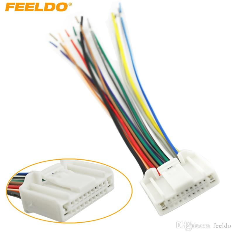 2019 feeldo car stereo cd/player wiring harness adapter plug for nissan/ subaru/infiniti oem factory radio cd #3995 from feeldo, $6 21 | dhgate com
