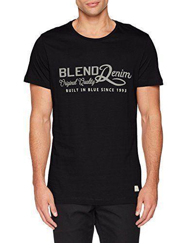 newest e3eed d45d7 Nero Medium Blend 20705576, T-Shirt Uomo, (Black 70155), M Abbigliamento  (g2a) Mens 2018 fashionable Brand 100%cotton Printed