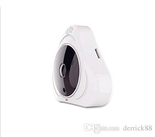 360°Fisheye Panoramic IP Camera 1.3 Megapixel Audio Video 960P Wireless WiFi Support IR Night Motion Detection Home Security Monitor Webcam