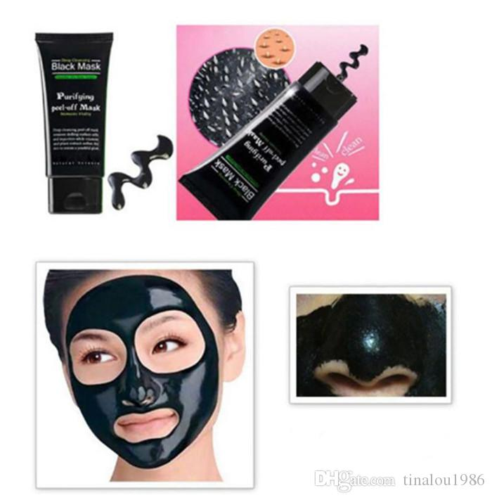 Make Up Blackhead Remove Facial Masks Deep Cleansing Purifying Peel Off Black Nud Facail Face black Mask
