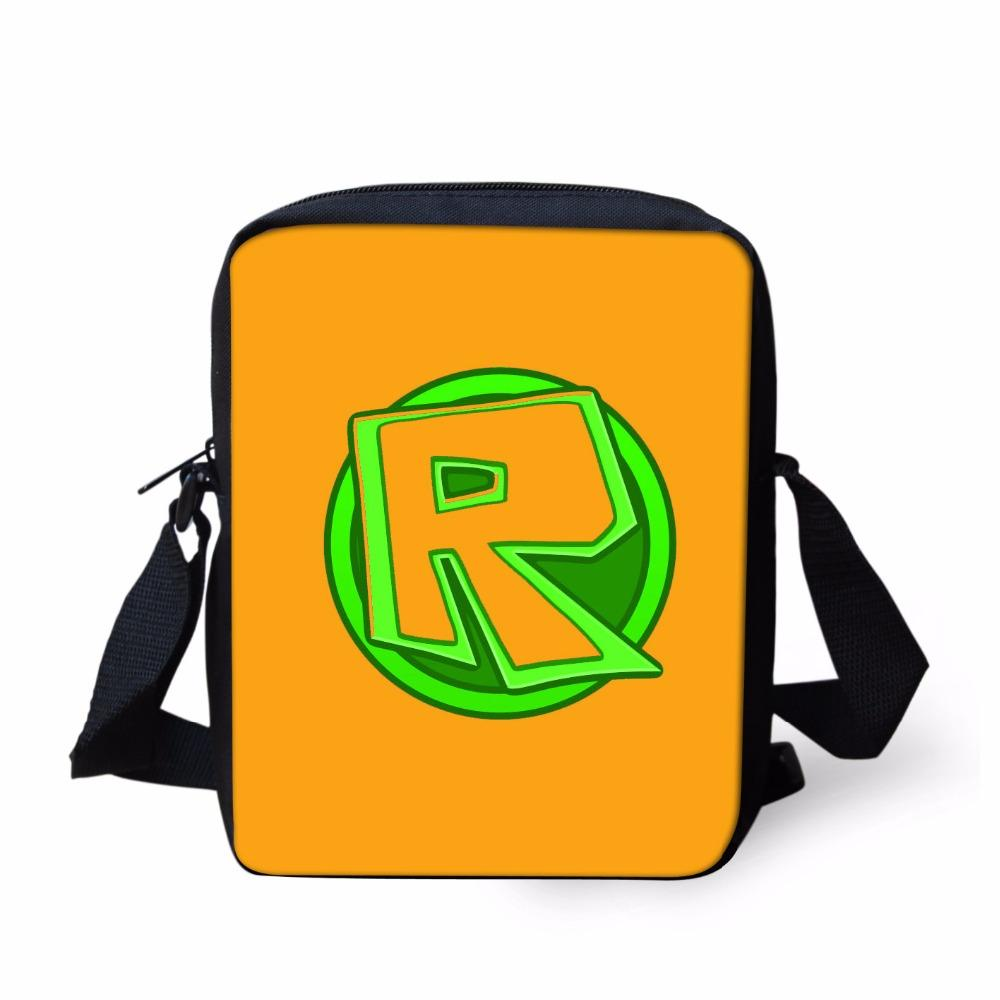 skilful manufacture purchase newest cute Roblox Toys school Supplies New Crossbody Book Bags Messenger Bag Casual  Small Case Kid Gift Girls Boys Schoolbag satchel travel