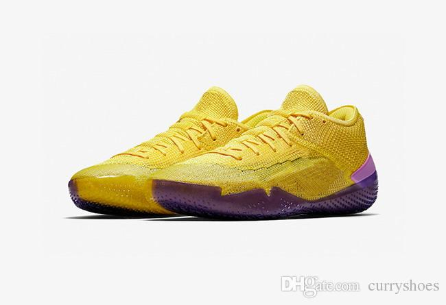 b1dfb8f5d961 Best Kobe 360 Yellow Strike Shoes Kobe Bryant Basketball Shoe Store With  Box US7 US12 Walking Shoes Shoes Sneakers From Curryshoes
