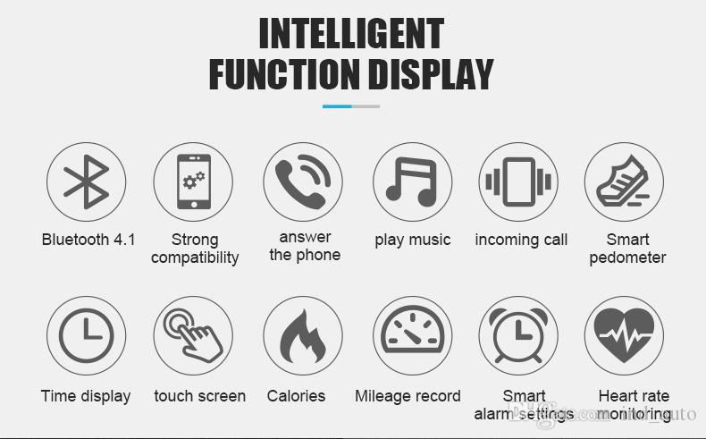 Smart Bracelet And Bluetooth Headphone With Mic Two-in-one Talkband Y3 Fitness Tracker Smartband Speaker Watch For Iphone Samsung Huawei Mi