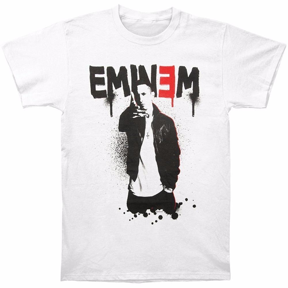 92ee1e12be Compre Camisas De Roupas Frete Grátis Homens Curtos Eminem Pulverização De  Recuperação Dos Homens T Shirt O Pescoço Camisa De Natal De Yuxin009, ...