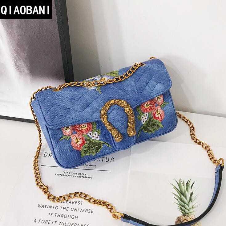 Factory Direct Selling Brand Ladies Bag Fashionable Flowers