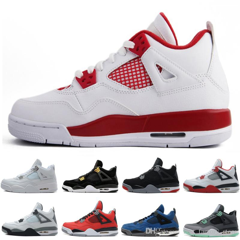 d40c1482b15f Cheap 4 4s Men Basketball Shoes Motosports Blue Fire Red White ...