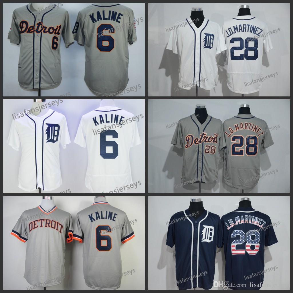 2019 Mens 28 J.D.Martinez 6 Al Kaline 2018 Baseball Jerseys Home Away Road  Embroidered Cheap Stitched Baseball Jersey From Lisafansjerseys 2077231717a
