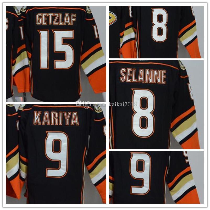 0aefb5c6991f 2018 New Arrivals Men s NHL Jersey  15 Getzlaf  8 Selanne  9 Kariya ...