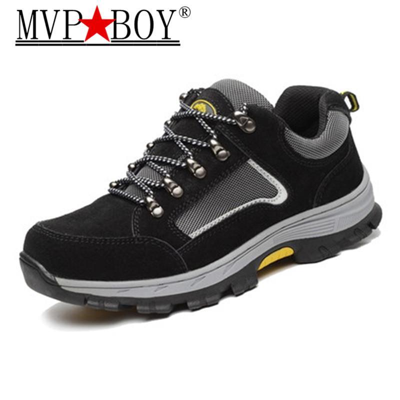 4b264defcc796 Acheter MVP BOY Chaussures De Sécurité De Travail Pour Hommes Vintage Mesh  Respirant En Acier Embout D'embout De $46.65 Du Ajshoesfactory   DHgate.Com