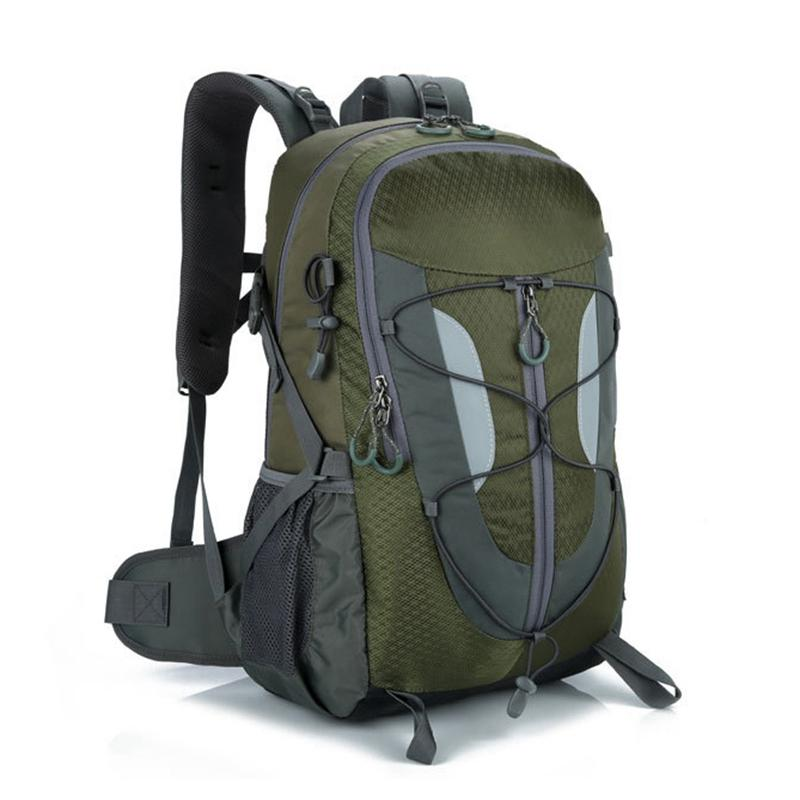 Fashion Backpack Mountaineering Bag Shoulder 30L Waterproof Light  Multi-functional Mountaineering Backpack Backpack Waterproof Waterproof Bag  Backpack ... c76b960f37a78
