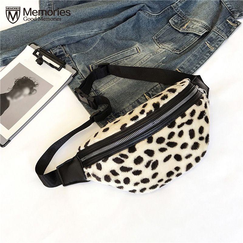 599867cd3c2 Waist Bags For Women 2018 Plush Waist Belt Bag Holographic Fanny Pack  Fashion Girl Leopard Print Zipper Messenger Heuptas Mannen Leather Backpack  Laptop ...