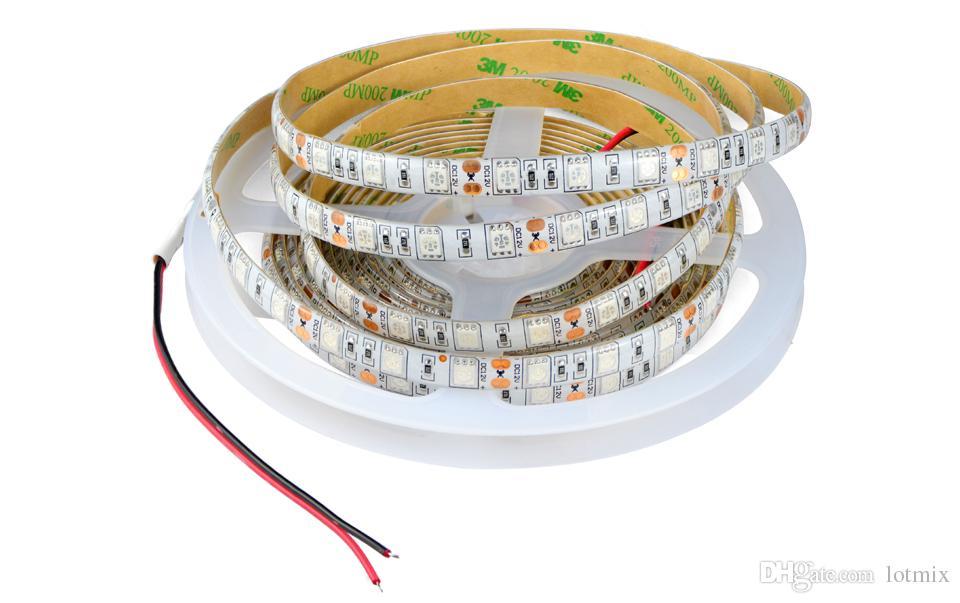 DC12V LED Coltiva la luce 5M LED Strip light 5050 SMD LED Fiore crescita delle piante lampade la coltivazione in serra di piante idroponiche