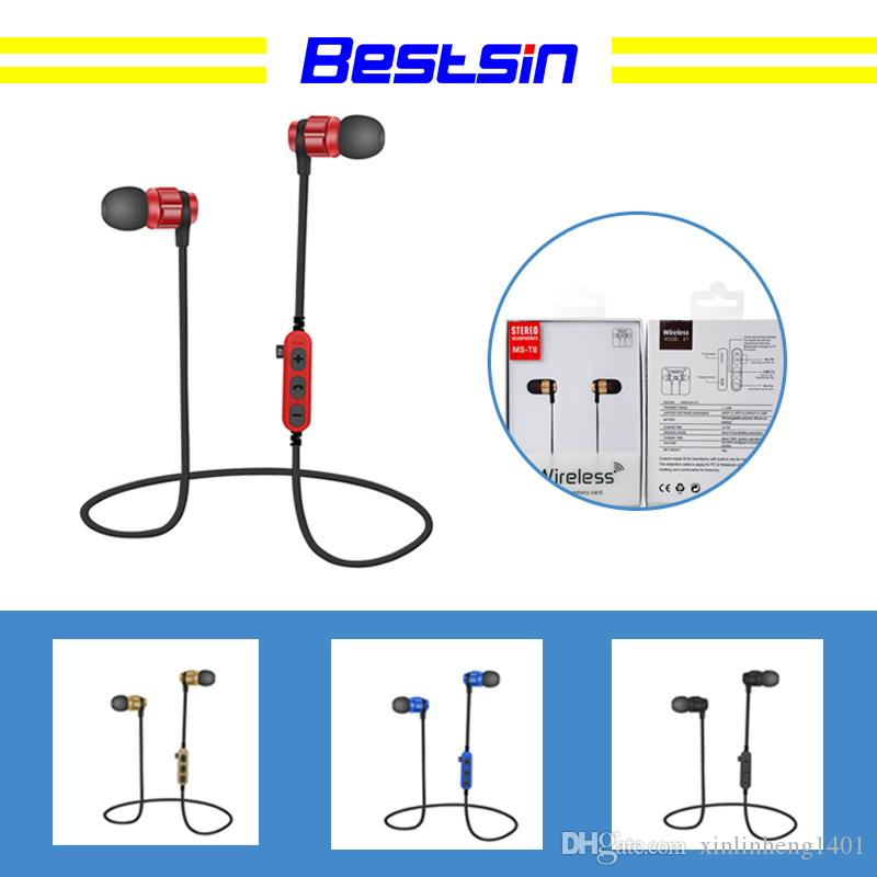 bestsin ms t8 bluetooth 4 1 earphones sport wireless in ear headset rh dhgate com